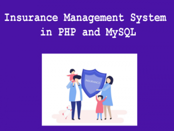 Insurance-Management-System-using-PHP-and-MySQL