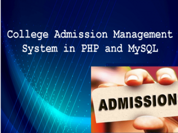 collegeadmissionmanahementsystemproject