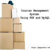 Courier Management System using php and mysql-product
