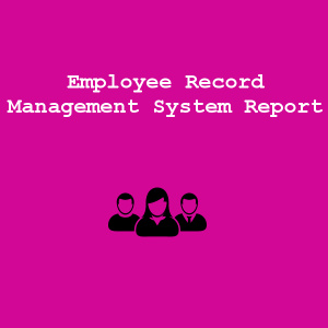 Employee Record Management System Report