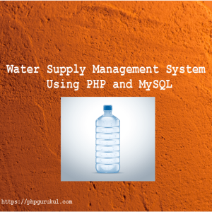 Water-Supply-Management-System-Using-PHP-and-MySQL-product