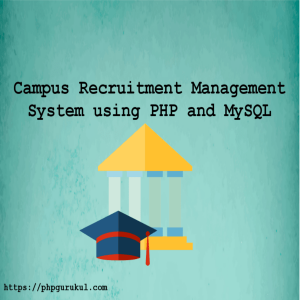 campus-recuirtment-system-usingphp-project