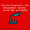 Online Diagnostic Lab Management System using PHP and MySQL
