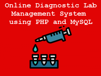 Online-Diagnostic-Lab-Management-System-using-PHP-and-MySQL